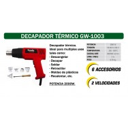 Decapador térmico CEVIK GW-1003
