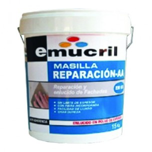 Masilla Raparacion AA EM-03 Emucril