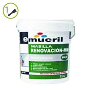 Masilla renovacion MM EM-02 Emucril