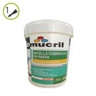 Masilla cubregota pasta Emucril
