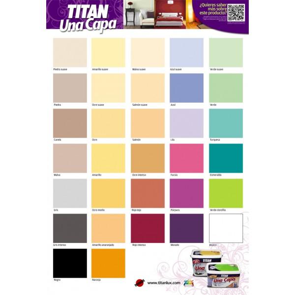 Titan una capa for Pintura color piedra suave