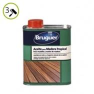 Aceite para madera Tropical Bruguer