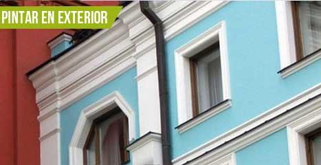 Tu tienda online de pintura 'Pinturas ACF', pintar en exterior